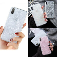 For iPhone X 6 7 8 Plus Bling Hybrid Epoxy Glitter Rubber Protective Case Cover