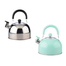 2.5L Stainless Steel Hot Water Kettle Pot With Whistle Sound Tea Kettle
