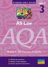 AS Law AQA Unit 3: The Concept of Liability Unit Guide... by Yule, Ian Paperback