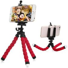 Universal Cell Phone Tripod Holder Stand with Mount Adapter iPhone Samsung HTC