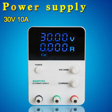 10A 30V DC Power Supply Adjustable Digital Variable Precision 4 Digits Lab New