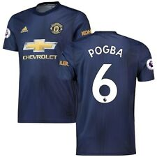 Paul Pogba Manchester United adidas 2018/19 Third Replica Player Jersey - Navy