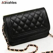 Hot Sell Evening Bag Black Bag Women Leather Handbag Chain Shoulder Bag Women Me