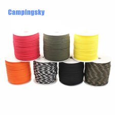 CAMPINGSKY Paracord 550 4mm rope 100FT Paracord survival Parachute Cord Lanyard