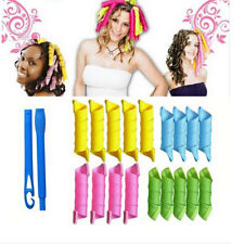 18Pcs 55CM Magic Long Hair Curlers Curl Formers Leverage Rollers Spiral Ringlets