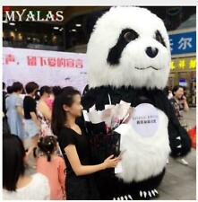 2.6m/3m Advertising Adult Inflatable Panda Bear Mascot Costume Dress Outfit *