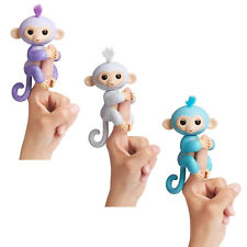 WOWWEE Fingerlings Äffchen Spielzeug Interaktiv Monkey Brokatt Amelia Sugar Kiki