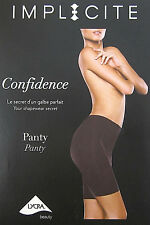 Implicite Confidence Black Shapewear Panty Long Leg Brief Style 20A670