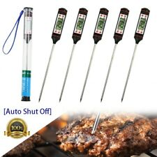 5x Electronic Meat Thermometer Instant Read Digital Food Probe BBQ Thermometers
