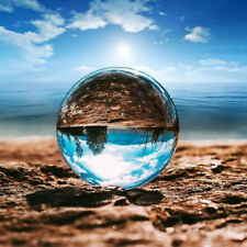 Crystal Ball Glass Clear 60mm/80mm Photography Lens Photo  Background Sphere