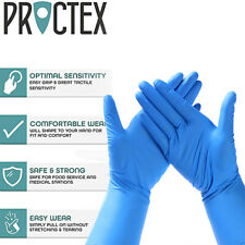 50 Pairs Vinyl Disposable Medical Work Nitrile Gloves Powder Free Anti-bacterial