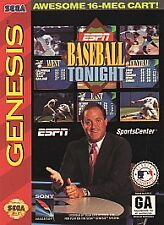 ESPN Baseball Tonight (Sega Genesis, 1994)