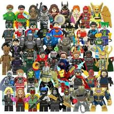 Avengers Minifigures Iron Man Hulk Thor Thanos DC Super-man Batman Figure Marvel