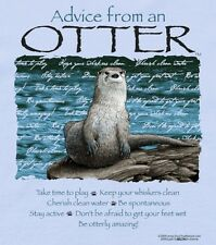 Advice from an OTTER Sweatshirt Nature New NWT