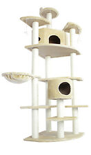"80"" CAT TREE CONDO FURNITURE SCRATCHPOST PET HOUSE 5238"