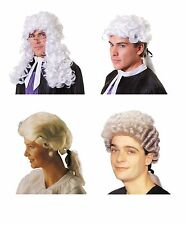 COURT / BARRISTER / JUDGE / LAWYER WIG ALL KINDS COSTUME ACCESSORY