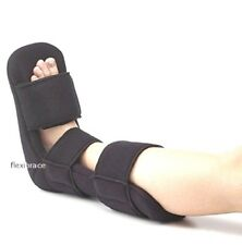 Soft Padded Night Splint for Plantar Fasciitis Heel Spurs By Flexibrace®