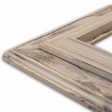 Lauren Stone Grey Picture Frame-Solid Wood