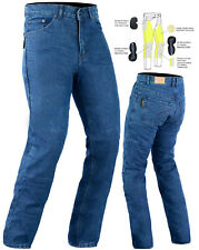 NEW MENS/LADIES MOTORCYCLE JEANS FULLY REINFORCED WITH DuPont™ KEVLAR® ARAMID