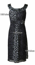 new RRP $190 JACQUI E JEWELED SILK DRESS FREE POST