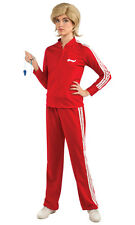 Glee Sue Track Suit Red TV Coach Funny Dress Up Sexy Adult Halloween Costume