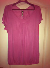 Ex Principles 2 in 1 Pink Thin Knit Top 10/12/14 NEW
