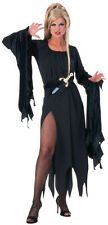 Enchantress Witch Vampire Gothic Black Sexy Dress Up Halloween Adult Costume