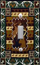 Light Switch Plate Switchplate Cover DEER ANTLERS HUNTING WILDLIFE