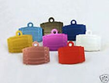 Barrel Shaped Dog Id Pet Tag 35mm Various Colours ( FREE ENGRAVING ) from Melian