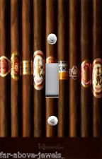 Light Switch Plate Switchplate & Outlet Covers ~ MAN CAVE CIGARS PHOTO 01