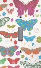 Light Switch Plate Switchplate & Outlet Covers COLORFUL BUTTERFLY BUTTERFLIES