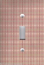 Light Switch Plate Switchplate & Outlet Covers VICTORIAN MIRABELLA CHECK PLAID