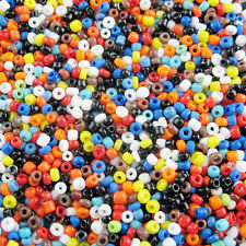 9Colors-1 Or Mixed,2mm Or 4mm Glass Solid Color seed spacer beads R385