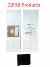 Royal AiroPro Style Q Model RY2000 2100 Allergy Tank Vacuum Cleaner Bag + Filter