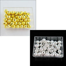 3mm,4mm,6mm,8mm,10mm Copper Round Stardust Spacer Bead Silver,Gold Plt R408