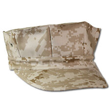 USMC Marine Corps Duty Cap Desert Digital Camouflage 8 Point Hat - FREE SHIPPING