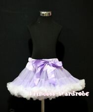 Lavender White FULL POSH Premium Pettiskirt Skirt Dance Tutu For Child Girl 1-8Y