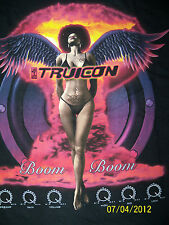 NEW Men's TruIcon Bikini Angel Black Short Sleeve T-Shirt - 2XL , 3XL