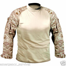 Desert Digital Camo Moisture Wicking Flame Resistant Combat Uniform Shirt