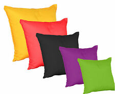 Scatter Floor Cushion with Inners Plain Colour Water & Stain Resistant by Gilda