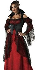 Adult Halloween Outfit Deluxe Victorian Vampire Costume