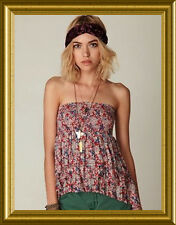 NEW! FREE PEOPLE Crinkle Pleat CONVERTIBLE ASYMETRICAL Smocked TOP SKIRT XS M L