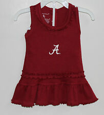 Alabama Crimson Tide Kids Ruffled Tank Top Dress With Bloomers
