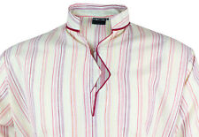 Mens Indian Long Sleeve Kurta Top-Shirt Multicoloured MK6763 Various Sizes