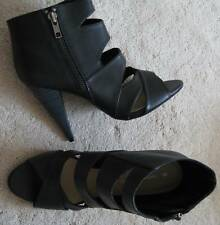 Dorothy Perkins High Heel Black Ankle Boots (NEW) size 5 or 7-£38.00