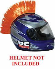 Helmet Orange Mohawks PC Racing All Colors Interchangable Mohawk