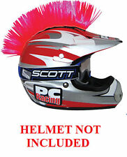Helmet Pink Mohawks PC Racing All Colors Interchangable Mohawk