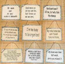 Wood Sign Wall Decor Funny Words Country Rustic You Choose Buy 2 Get 1 FREE