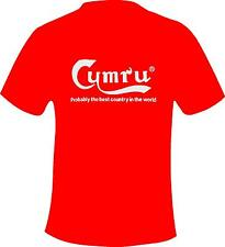 Cymru Probably The Best Country In The World Wales  Printed T Shirt in 5 Sizes