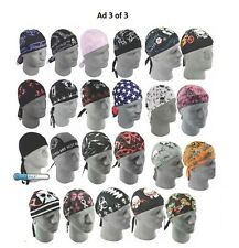 Zan HeadGear Flydanna Headwrap Bandanna Racing Off road MX ATV UTV Band Sweat